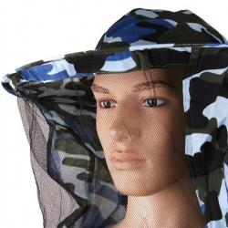 Včelařská bunda s kloboukem maskáčová (7)