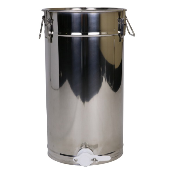 Stáčecí nerezová nádoba na med 200 kg