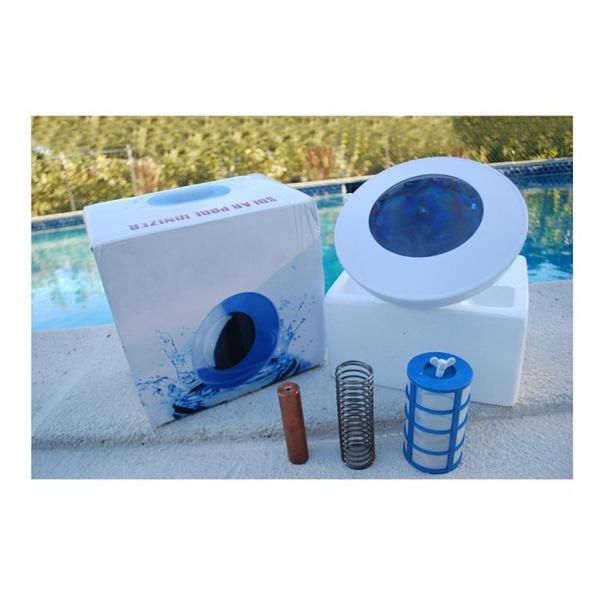 Solární ionizace vody v bazénu obsah balení