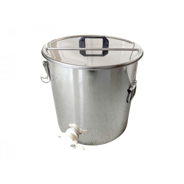 Stáčecí nerezová nádoba na med 50 kg