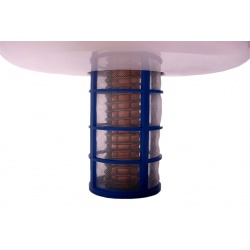 Solární ionizace vody v bazénu anoda s košíčkem