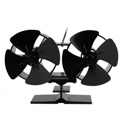 Ventilátor pro krby a kamna EKOVENT Duo 60-300°C
