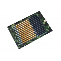Hliníkové šipky 6 mm x 16 cm