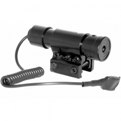Laserový zaměřovač ukazovátko Kandar 9/11mm + dálkový tlakový spínač
