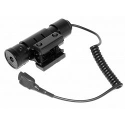 Laserový zaměřovač ukazovátko Kandar 9/11mm + dálkový tlakový spínač (2)