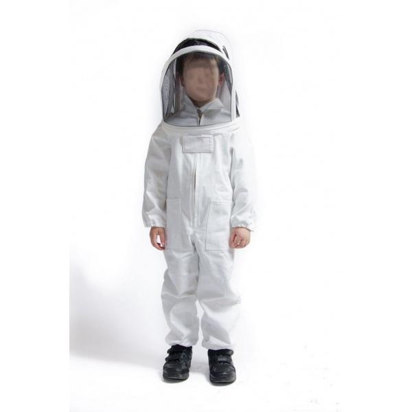 Dětská včelařská kombinéza s kuklou (1)