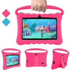 """Tablet dětský 7"""" od 3 let s ochranným pouzdrem 1G/16GB Android růžový"""