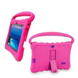 """Tablet dětský 7"""" od 3 let s ochranným pouzdrem 1G/16GB Android růžový (1)"""