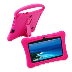 """Tablet dětský 7"""" od 3 let s ochranným pouzdrem 1G/16GB Android růžový(2)"""