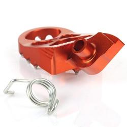 Stupačky KTM oranžové SX(F) 125-525, EXC(F) 125-525, rok 99-15 a1