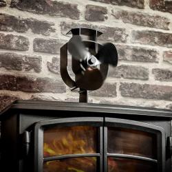 Ventilátor pro krby a kamna EKOVENT 60-300°C ERB 3 výkonný (5)