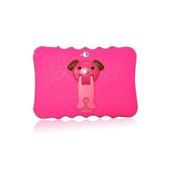 """Tablet dětský Alík 7"""" silikonové pouzdro 1GB/16GB Android růžový(2)"""