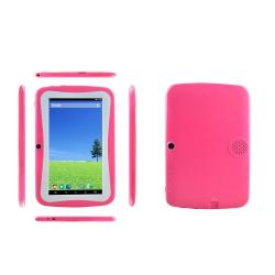 """Tablet dětský Alík 7"""" silikonové pouzdro 1GB/16GB Android růžový(3)"""