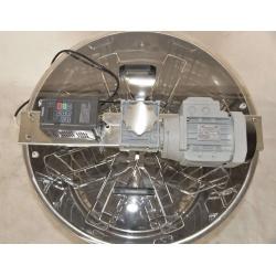 Medomet elektrický 8 rámkový nerezový 230V obousměrný (1)