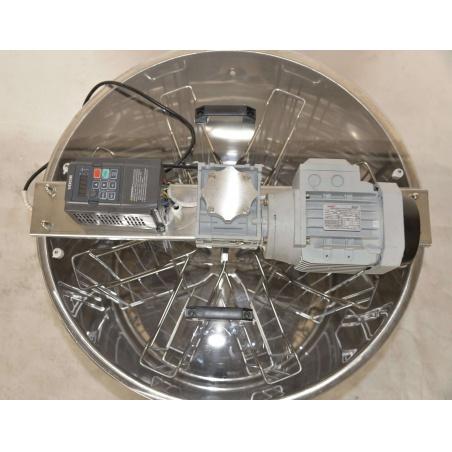 Medomet elektrický 8 rámkový nerezový 230V obousměrný