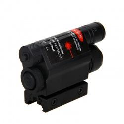 Taktická svítilna s laserem na 11mm a 22mm