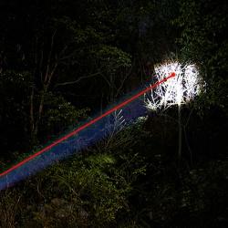 Taktická svítilna s laserem na 11mm a 22mm (6)
