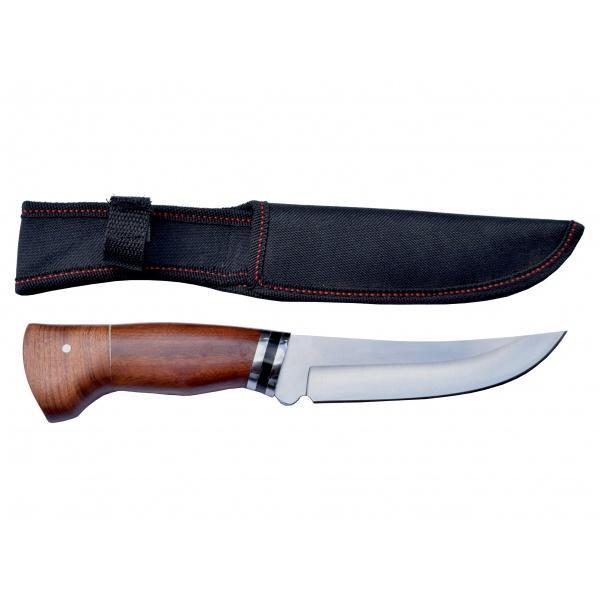 Lovecký nůž rosewood Black stripe s nylonovým pouzdrem