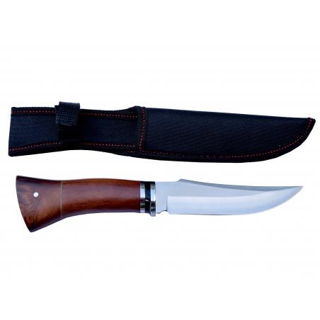 Lovecký nůž rosewood Black stripe 3 s nylonovým pouzdrem