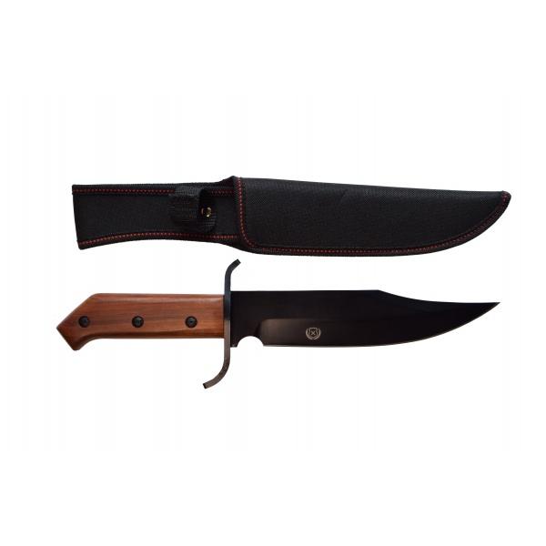 Lovecký nůž rosewood Black s nylonovým pouzdrem