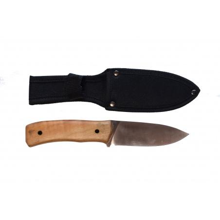 Lovecký nůž Olive wood survival s ochranným pouzdrem