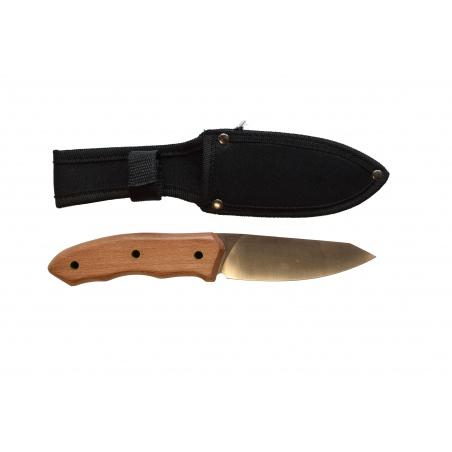 Lovecký nůž Olive wood survival 2 s ochranným pouzdrem
