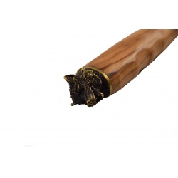 Lovecký nůž Wolf s koženým pouzdrem(2)