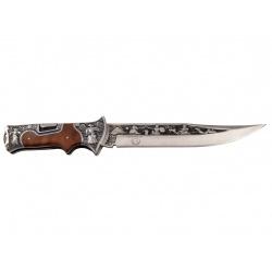 Lovecký nůž zavírací rosewood Diablo s nylonovým pouzdrem