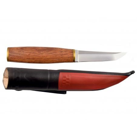Lovecký nůž rosewood Thin s koženým pouzdrem