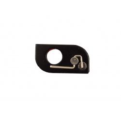 Magnetická kovová základka pro vedení šípů pravá