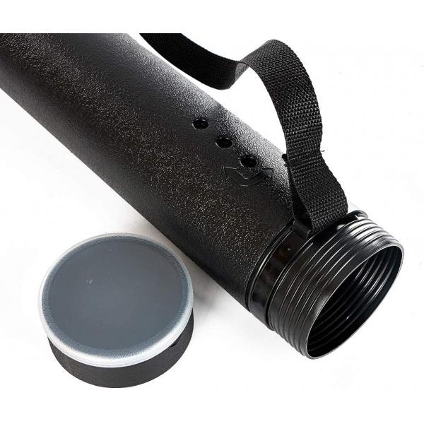 Teleskopický plastový tubus na šípy a výkresy MAXI