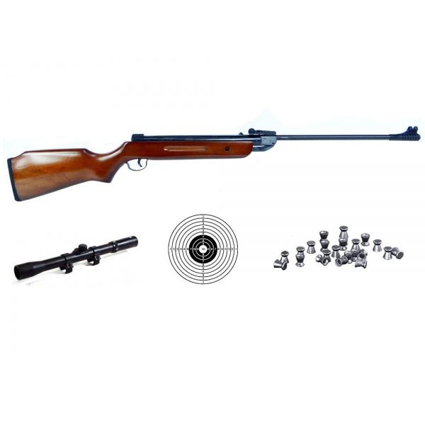 Vzduchovka B2 set s puškohledem 4,5mm
