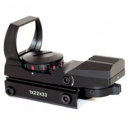 Výkonný laserový zaměřovač ukazovátko červené  11/22mm