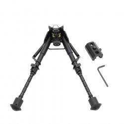 Bipod typ Harris střelecká dvojnožka s kloubem teleskopická (3)
