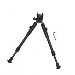 sklopná dvojnožka Bipod teleskopická na RIS lištu s montáží (4)
