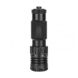 Výkonný laserový zaměřovač Sun Fire Beta červený 11/22 mm+ dálková tlaková spoušť (4)