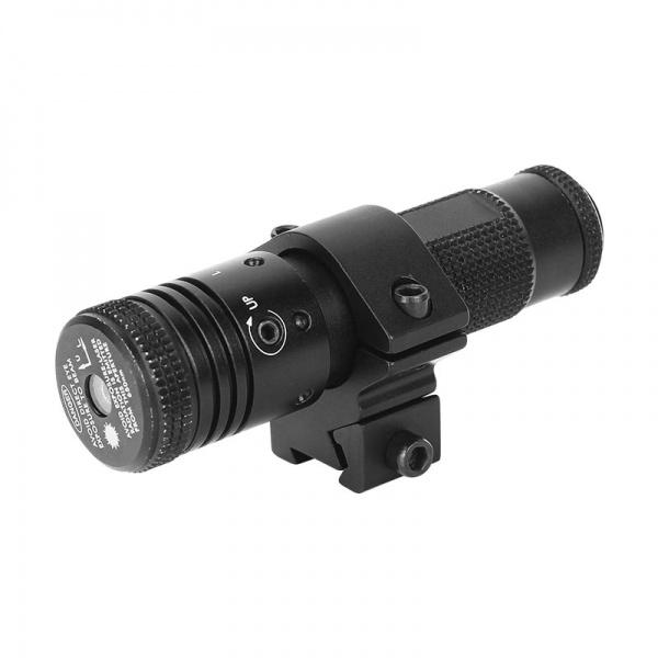 Výkonný laserový zaměřovač Sun Fire Alfa červený 11/22 mm+ dálková tlaková spoušť