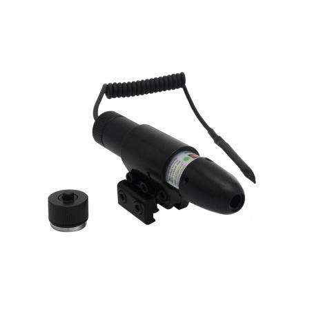Laserový zaměřovač s dálkovým tlakovým spínačem