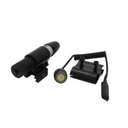 Laserový zaměřovač s dálkovým tlakovým spínačem(4)
