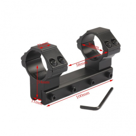 Jednodílná montáž vysoká 11mm/30mm (3)