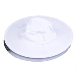 Bílý včelařský klobouk