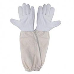 Kožené včelařské rukavice 02