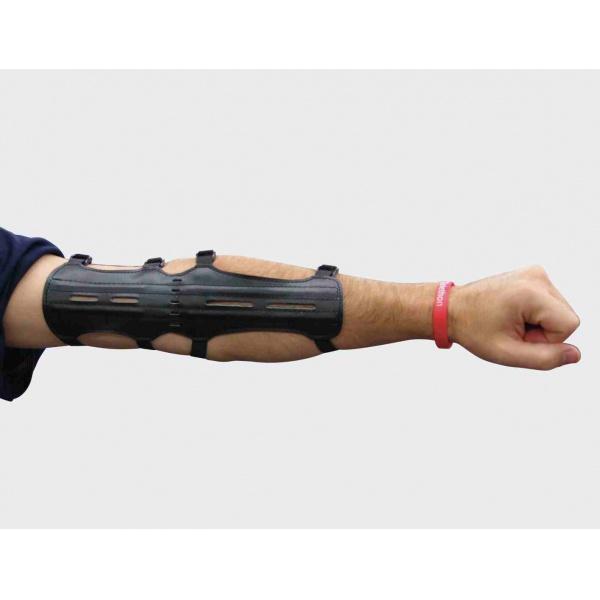 Chránič předloktí a paže pro lukostřelbu kožený