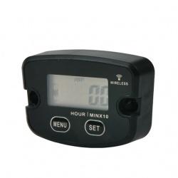 Bezdrátový měřič motohodin, vibrační, resetovatelný, voděodolný(2)