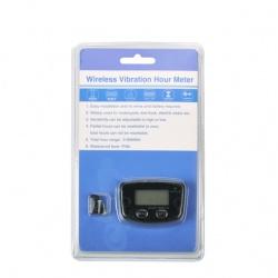 Bezdrátový měřič motohodin, vibrační, resetovatelný, voděodolný (5)
