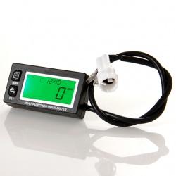 Multifunknčí měřič motohodin, otáček, napětí, podsvícený, voděodolný (2)