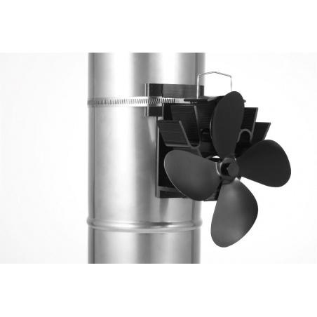Ventilátor pro krby a kamna EKOVENT na kouřovod magnetický (1)